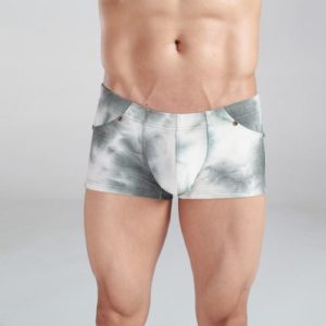 Boxer jeans cotton style gray colors with Snow White for men