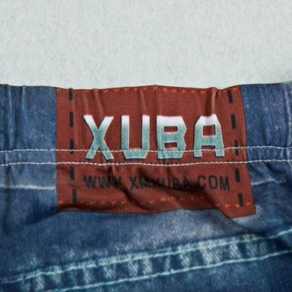 Boxer Cotton imitator colors of dark blue jeans for men