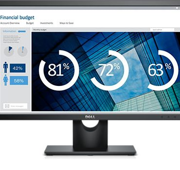 Dell 24 Screen LED-Lit Monitor FHD VGA-DVI E2416H