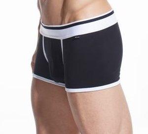 Black Cotton Trunk Boxer