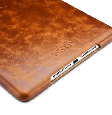 iPad Pro 9.7, iPad Air 2 Cover of Oil Wax Vintage Genuine Leather Folio