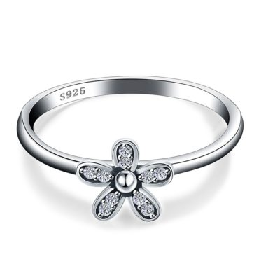 Flower silver 925 ring