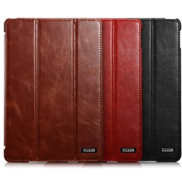 iPad mini 4 Vintage Leather Design Real Cowhide Leather Multi Colors