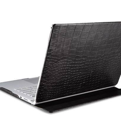 Surface Book Embossed Crocodile Genuine Leather Detachable Folio Case