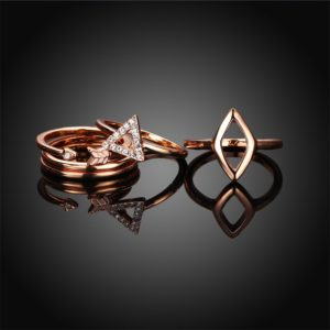 Special collection of ring set with a unique design