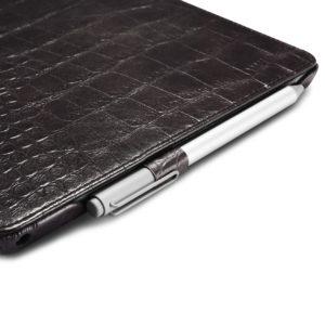 Surface Pro4 Embossed Crocodile Genuine Leather Folio Case