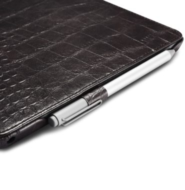 Surface Pro4 Embossed Crocodile Genuine Leather Folio Case