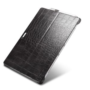 Surface Pro4 Embossed Crocodile Genuine Leather Back Cover
