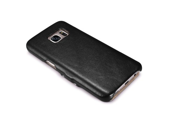 Samsung Galaxy S7 Luxury Series Side Open Genuine Leather Case