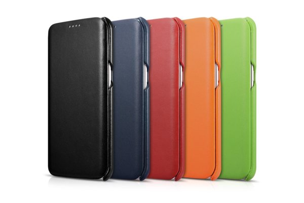 Samsung Galaxy S7 Edge Luxury Series Side Open Genuine Leather Case