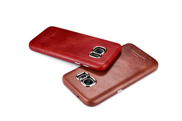 Samsung Galaxy S7 Vintage Back Cover Series Genuine Leather Case