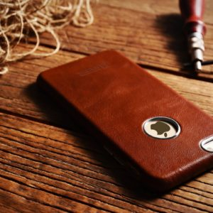 iPhone 6 Plus/ 6S Plus Case Transformers Vintage Back Cover Series Genuine Leather Case