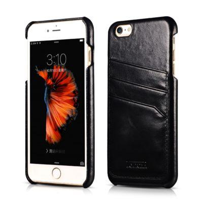 iPhone 6 Plus/ 6S Plus Baroque Vintage Back Cover Series Genuine Leather Case