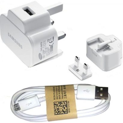 Package charger for samsung charger 5V 2 amp with USB