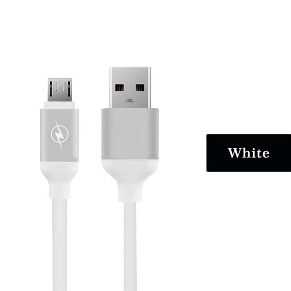micro USB cable fast charger soft TPE data sync USB charging cable for android, for Samsung