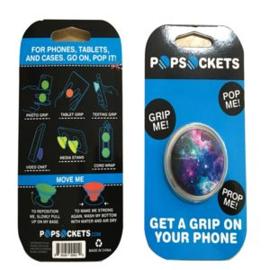 Popsockets Phone Stand and Grip Black