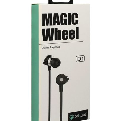 ND1 Magic Wheel Stereo Earphones With Mic, High quality with multiple colors