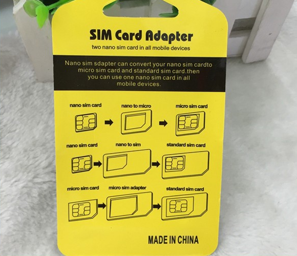 new design custom 2017 For all mobile phone sim card adapter