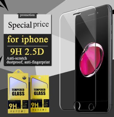 Glass protection screen phones from breakage 9H special, iPhone 6 and iPhone 6 Plus, against fingerprint and scratching