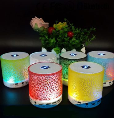 Speaker Audio with LED Light with Seven Color Change, Music S8 High Sound quality Bluetooth Speaker