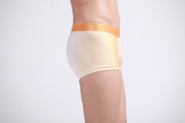 cotton Boxer , youth mixed orange colors with White