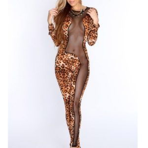 Fashion Leopard jumpsuits