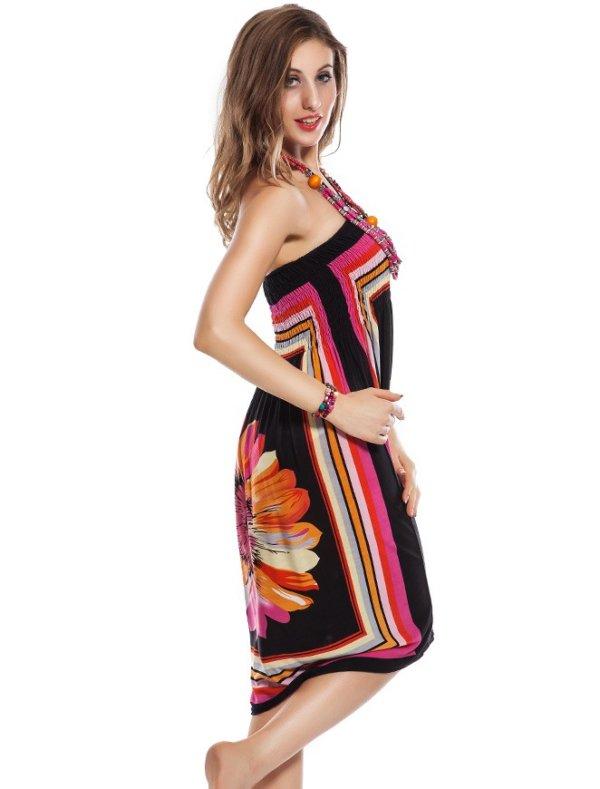 Sunflower Printed Dress