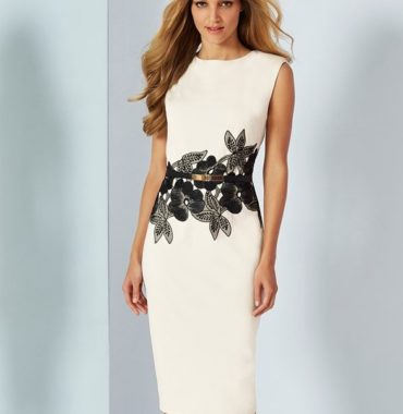 Floral Waistband Dress