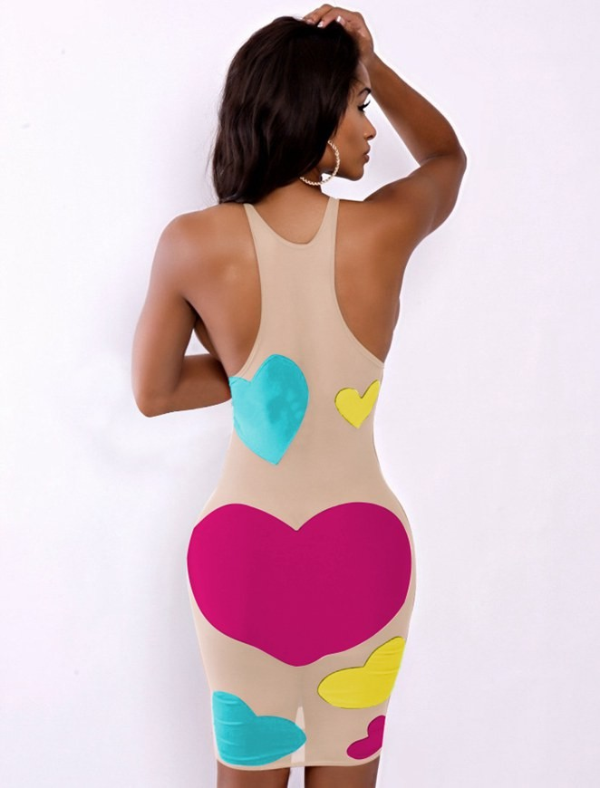 The Neon Love Illusions Dress