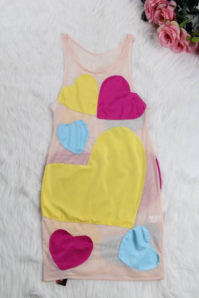 The Neon Love Illusions Dress