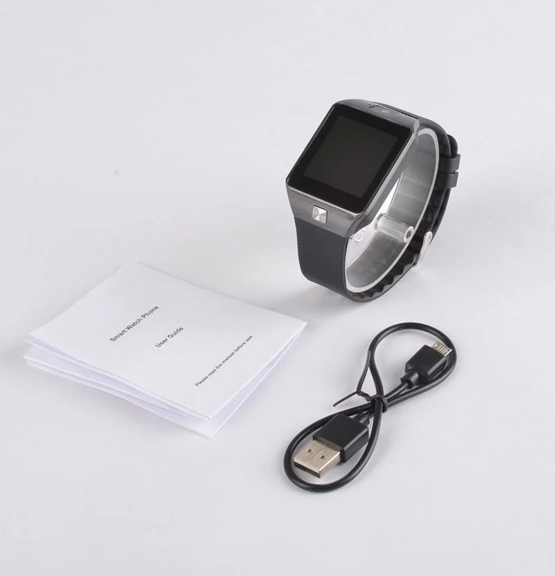 Smart Watch Touch Screen, Bluetooth, Memory, Sim Card, Call Function