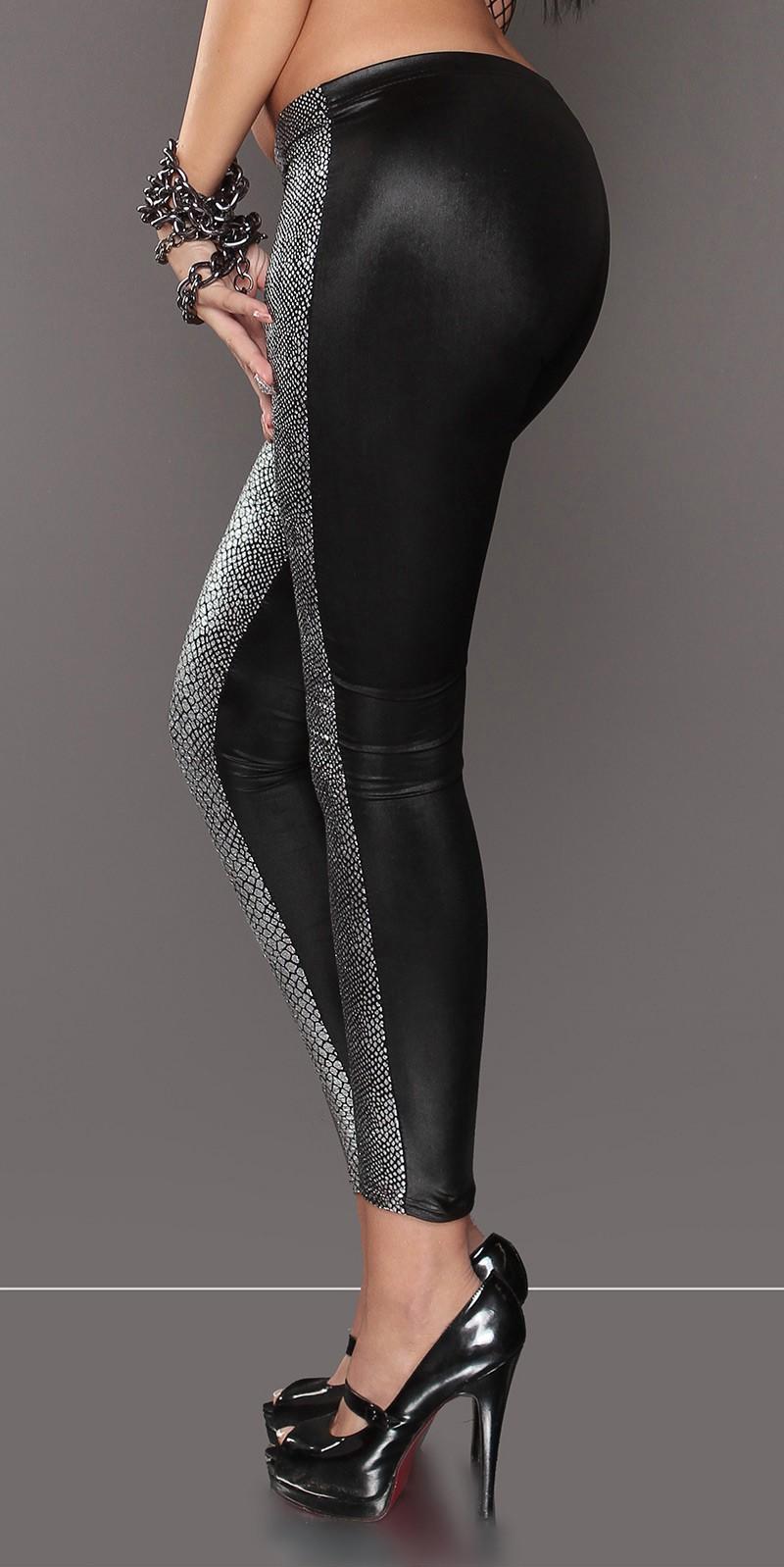 Stitching leggings