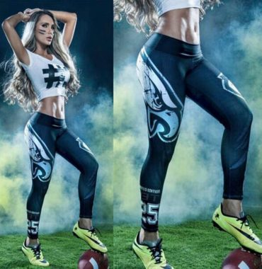Philadelphia Eagles printing Leggings