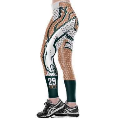 Denver Broncos printing Leggings