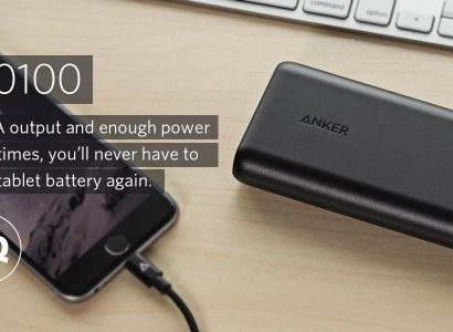 Anker PowerCore 20100 - Ultra High Capacity Power Bank PowerIQ Technology for iPhone and Samsung