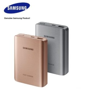 Samsung Fast Charge 10200mAh External Battery Pack, Silver
